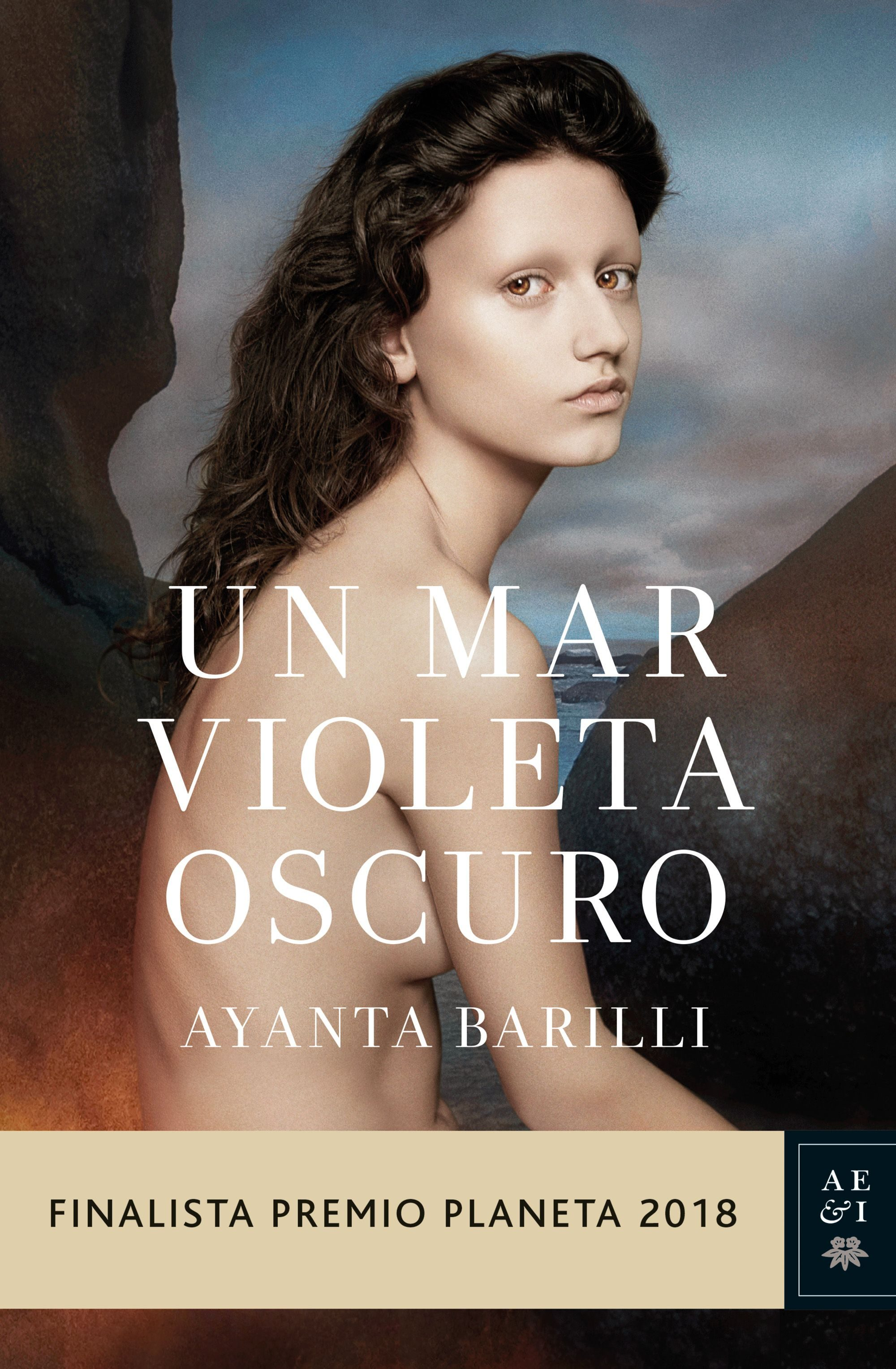 Un mar violeta oscuro Book Cover