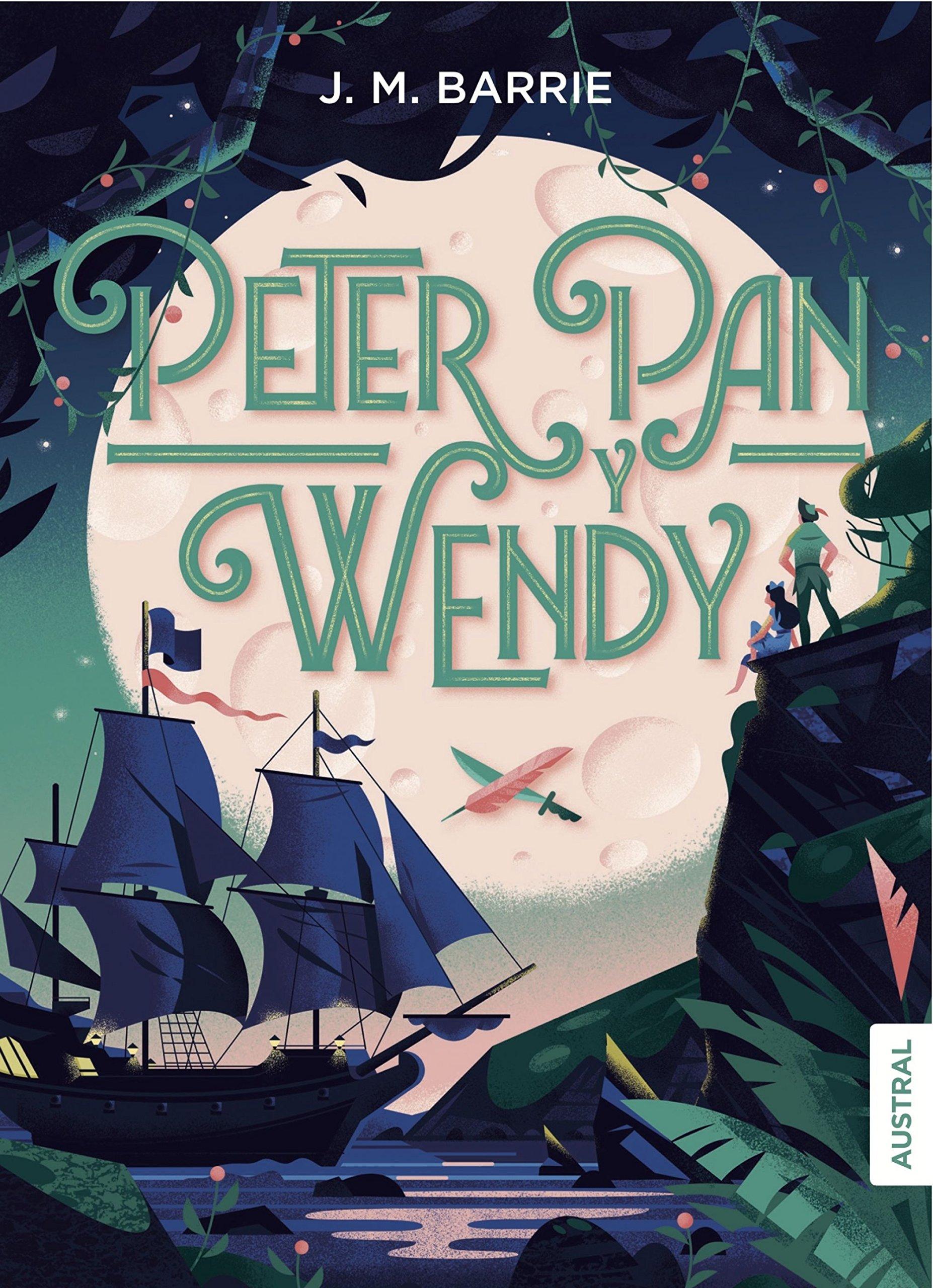 Peter Pan y Wendy Book Cover