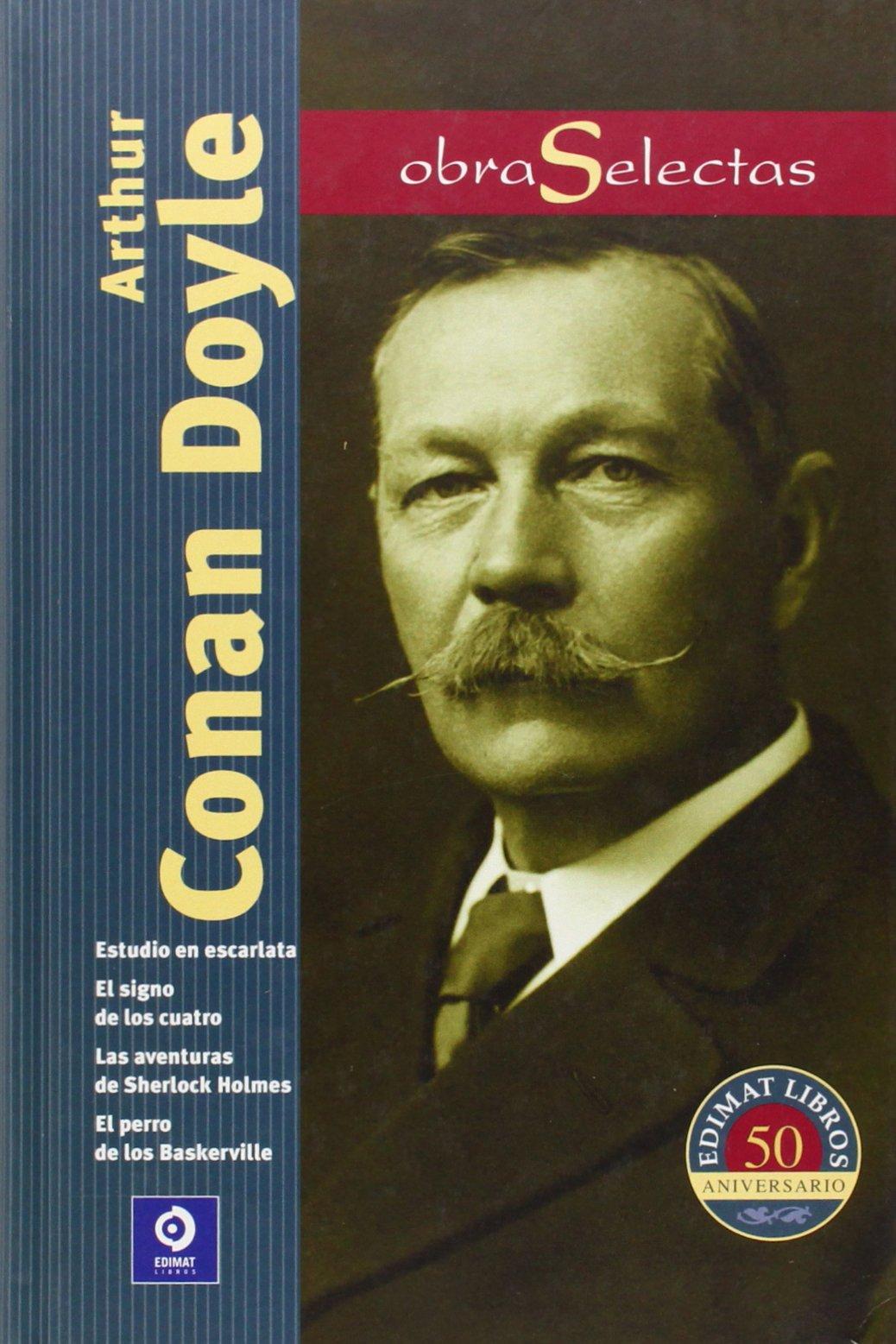 Arthur Conan Doyle Book Cover